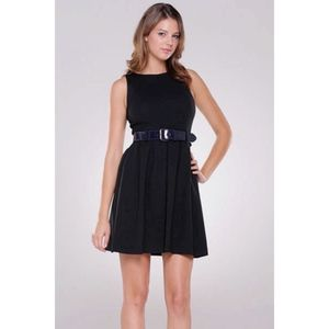 Theory Ardi Little Black Sleeveless Dress